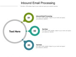 Inbound Email Processing Ppt Powerpoint Presentation Styles File Formats Cpb