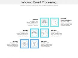 Inbound Email Processing Ppt Presentation Infographics Model Cpb