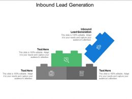 Inbound Lead Generation Ppt Powerpoint Presentation Model Graphics Example Cpb