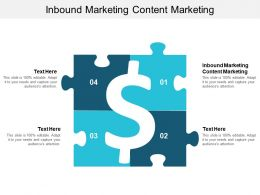 Inbound Marketing Content Marketing Ppt Powerpoint Presentation Icon Design Templates Cpb