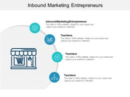 Inbound Marketing Entrepreneurs Ppt Powerpoint Presentation Icon Template Cpb