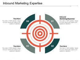 Inbound Marketing Expertise Ppt Powerpoint Presentation Outline Show Cpb