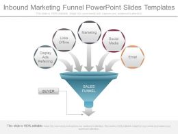 Inbound Marketing Funnel Powerpoint Slides Templates