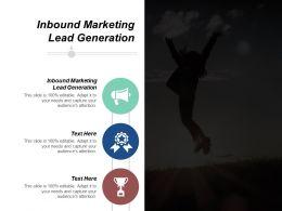 Inbound Marketing Lead Generation Ppt Powerpoint Presentation Ideas Layouts Cpb