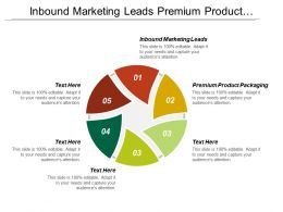 Inbound Marketing Leads Premium Product Packaging Sales Management