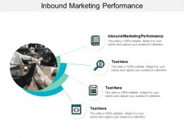 Inbound Marketing Performance Ppt Powerpoint Presentation Icon Graphics Cpb