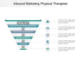 Inbound Marketing Physical Therapists Ppt Powerpoint Presentation File Gallery Cpb