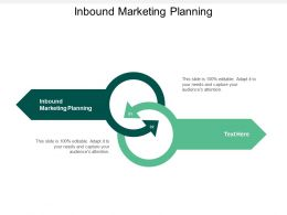 Inbound Marketing Planning Ppt Powerpoint Presentation Gallery Background Images Cpb