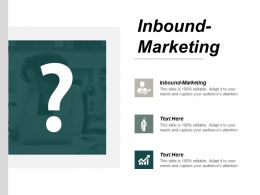 Inbound Marketing Ppt Powerpoint Presentation Outline Graphics Pictures Cpb