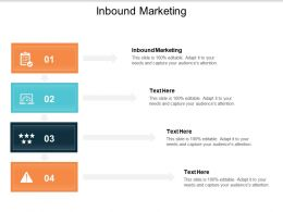 Inbound Marketing Ppt Powerpoint Presentation Portfolio Format Ideas Cpb