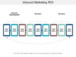 Inbound Marketing ROI Ppt Powerpoint Presentation Icon Designs Download Cpb