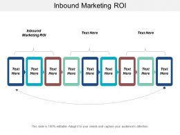 Inbound Marketing ROI Ppt Powerpoint Presentation Icon Designs Download Cpb