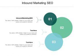 Inbound Marketing SEO Ppt Powerpoint Presentation Gallery Good Cpb