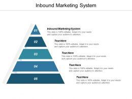 Inbound Marketing System Ppt Powerpoint Presentation Gallery Microsoft Cpb