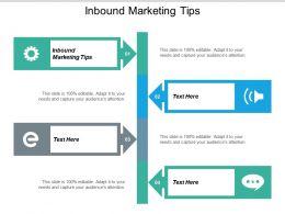 Inbound Marketing Tips Ppt Powerpoint Presentation Graphics Cpb
