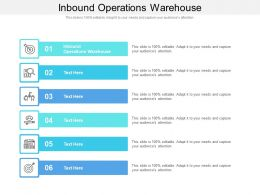 Inbound Operations Warehouse Ppt Powerpoint Show Inspiration Cpb