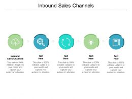 Inbound Sales Channels Ppt Powerpoint Presentation Infographic Skills Cpb