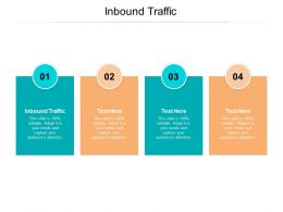 Inbound Traffic Ppt Powerpoint Presentation Infographics Objects Cpb