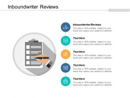 Inboundwriter Reviews Ppt Powerpoint Presentation Infographics Templates Cpb