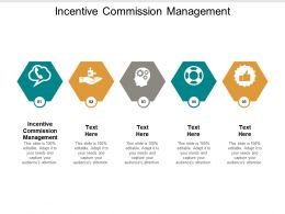 Incentive Commission Management Ppt Powerpoint Presentation Gallery Designs Download Cpb