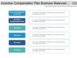 Incentive Compensation Plan Business Balanced Scorecard Capital Flows Cpb