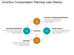 Incentive Compensation Planning Lean Startup Enterprise Product Launch Cpb