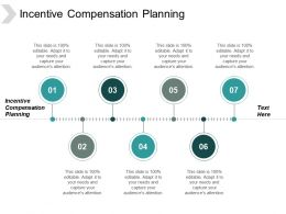 Incentive Compensation Planning Ppt Powerpoint Presentation Inspiration Slideshow Cpb