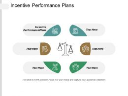 Incentive Performance Plans Ppt Powerpoint Presentation Pictures Files Cpb