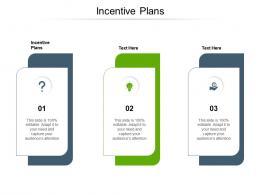 Incentive Plans Ppt Powerpoint Presentation Portfolio Inspiration Cpb