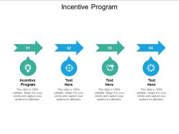 Incentive Program Ppt Powerpoint Presentation Professional Designs Cpb