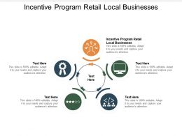 Incentive Program Retail Local Businesses Ppt Powerpoint Presentation Outline Icon Cpb