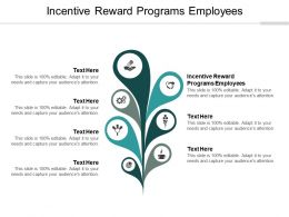 Incentive Reward Programs Employees Ppt Powerpoint Presentation Show Good Cpb