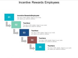 Incentive Rewards Employees Ppt Powerpoint Presentation Designs Cpb