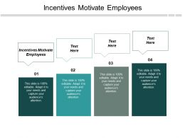 Incentives Motivate Employees Ppt Slides Outline Cpb