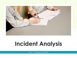 Incident Analysis Individual Automotive Industry Planning Strategic