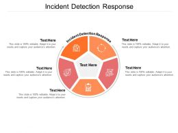 Incident Detection Response Ppt Powerpoint Presentation Layouts Graphics Cpb