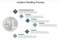 Incident Handling Process Ppt Powerpoint Presentation Infographic Template Designs Download Cpb