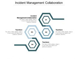 Incident Management Collaboration Ppt Powerpoint Presentation Summary Mockup Cpb