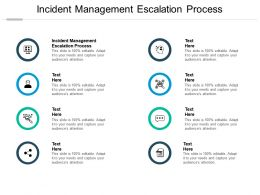 Incident Management Escalation Process Ppt Powerpoint Presentation Pictures Ideas Cpb