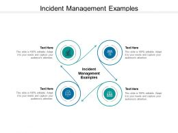 Incident Management Examples Ppt Powerpoint Presentation Outline Vector Cpb
