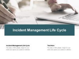 Incident Management Life Cycle Ppt Powerpoint Presentation Model Designs Download Cpb