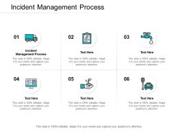 Incident Management Process Ppt Powerpoint Presentation Rules Cpb