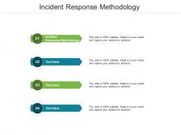 Incident Response Methodology Ppt Powerpoint Presentation Visuals Cpb