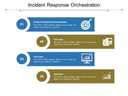 Incident Response Orchestration Ppt Powerpoint Presentation Slides Styles Cpb