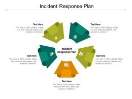 Incident Response Plan Ppt Powerpoint Presentation Slides Layouts Cpb