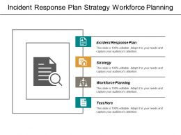 Incident Response Plan Strategy Workforce Planning Public Relations Cpb