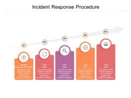 Incident Response Procedure Ppt Powerpoint Presentation Outline Ideas Cpb