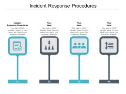 Incident Response Procedures Ppt Powerpoint Presentation Show Tips Cpb