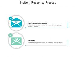 Incident Response Process Ppt Powerpoint Presentation Infographics Outline Cpb