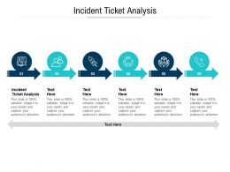 Incident Ticket Analysis Ppt Powerpoint Presentation Infographic Template Graphics Download Cpb
